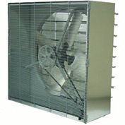TPI 48 Cabinet Exhaust Fan With Shutters CBT-48B 1 HP 21500 CFM 1 PH
