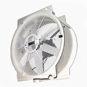 "Multifan 16"" Mobile Indoor Outdoor Greenhouse Fan T4E4001M81100 1/3 HP 3,294 CFM"