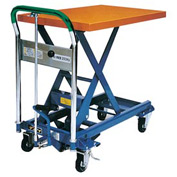Southworth Dandy Lift L-150 Mobile Scissor Lift Table 330 Lb. Capacity