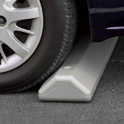 "Eagle Parking Curb with Hardware 72""L x 4""H x 8""W Gray, 1790G"