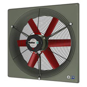 "Multifan Panel Fan 10"" Diameter Single Phase 120v With Grill"