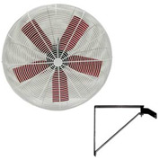 "Multifan 30"" Wall Mount Basket Fan 245779 1/2 HP 10000 CFM"