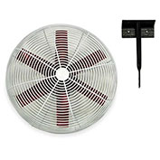 "Multifan 20"" Ceiling Mount Basket Fan 245782 1/3 HP 5500 CFM"
