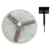 "Multifan 24"" Ceiling Mount Basket Fan 245783 1/3 HP 8000 CFM"