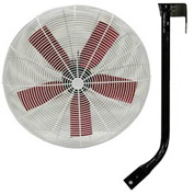 "Multifan 30"" Ceiling Mount Basket Fan 245784 1/2 HP 10000 CFM"