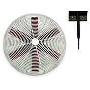 "Multifan 20"" Ceiling Mount Basket Fan 245785 1/3 HP 5500 CFM"