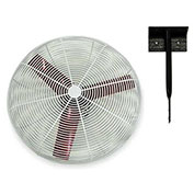 "Multifan 24"" Ceiling Mount Basket Fan 245786 1/3 HP 8000 CFM"