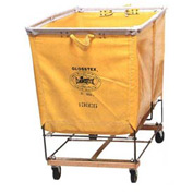 Dandux Yellow Glosstex Elevated Basket Bulk Truck 400130CG02Y 2 Bushel Capacity