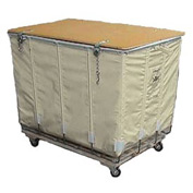 Dandux White Canvas Shipping Hamper Truck 400200208-4S 8 Bushel Capacity