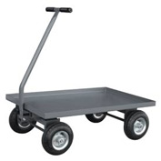 "Jamco Solid Steel Deck Wagon Truck UV236 36 x 24 with 1-1/2"" Lip Deck"