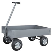 "Jamco Solid Steel Deck Wagon Truck UX248 48 x 24 with 6"" Lip Deck"