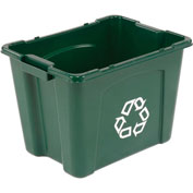 Rubbermaid Recycling Box - 14 Gallon Green