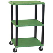 H. Wilson WT42G-B Green Tuffy Garage & Shop Utility Cart 250 Lb. Cap.