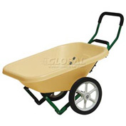 Dandux Loadumper Plastic Lawn & Garden Nursery Wheelbarrow 42042 4 Cu. Ft. 200 Lb. Cap.
