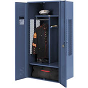Penco 6KGDA00806 Patriot Gear Locker 24x24x72 Ready To Assemble Marine Blue
