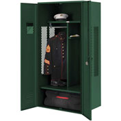Penco 6KGDA10812 Patriot Gear Locker 30x24x72 Ready To Assemble Hunter Green