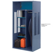 Penco 6KTDA10-806 Patriot Turnout Locker 30x24x72 Ready To Assemble Marine Blue