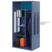 Penco 6KTDA40806 Patriot Turnout Locker 48x24x72 Ready To Assemble Marine Blue