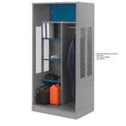 Penco 6WTDA00C028 Patriot Turnout Welded Locker 24x24x76 Gray
