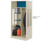 Penco 6WTDA00C073 Patriot Turnout Welded Locker 24x24x76 Champagne