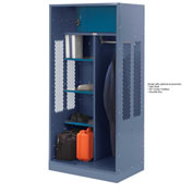 Penco 6WTDA00C806 Patriot Turnout Welded Locker 24x24x76 Marine Blue