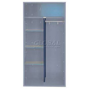 Penco 6CPX269C806 Center Partition For Patriot Locker, 15Dx58H Marine Blue