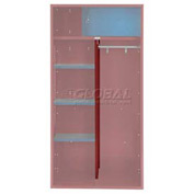 Penco 6CPX269C722 Center Partition For Patriot Locker, 15Dx58H Patriot Red