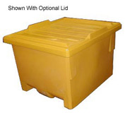 Bayhead KP-50-YELLOW Nesting Pallet Container 50x40x33 1000 Lb Cap. Yellow