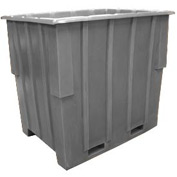 Bayhead KC-52-GRAY Nesting Pallet Container 57x41x53 1500 Lb Cap. Gray