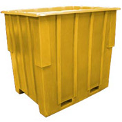 Bayhead KC-52-YELLOW Nesting Pallet Container 57x41x53 1500 Lb Cap. Yellow