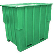 Bayhead KC-52-GREEN Nesting Pallet Container 57x41x53 1500 Lb Cap. Green