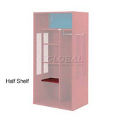 Penco 6SHX524C722 Half Shelf For Patriot Locker, 21Wx15D Patriot Red