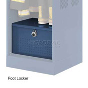 Penco 6ACXAB93H806 Foot Locker For Patriot Locker, 24x24x12 Marine Blue