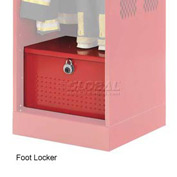 Penco 6ACXAB94H722 Foot Locker For Patriot Locker, 30x24x12 Patriot Red
