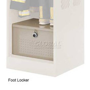 Penco 6ACXAB95H8073 Foot Locker For Patriot Locker, 36x24x12 Champagne