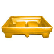 Bayhead MMPC-2YELLOW Low-Walled Container 65x51x15 1000 Lb Cap. Yellow