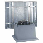 """42"""" 1-1/2hp Hooded Roof Supply Ventilator 3 Phase"""