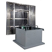 """42"""" 3hp Hooded Roof Supply Ventilator 3 Phase"""