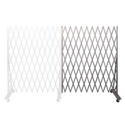 "Folding Security Gate Add-on 7'6""Hx6'W In-Use"