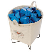 All Purpose Canvas Basket 1.25 Bushel