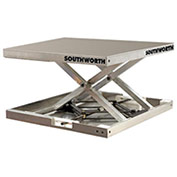 Southworth Lift-Tool™ 4429108 Aluminum Scissor Lift Table 300 Lb. Capacity