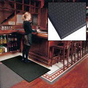 "Cushion Max Anti Fatigue Mat 36"" Wide Black from 3 Ft up to 45 Ft"