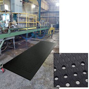"Cushion Max Anti Fatigue Drainage Mat 48"" x 72"" Black"