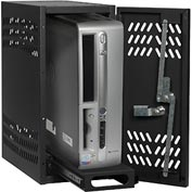 Datum Large Hanging CPU Locker CPU2-T25, Black