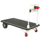 Wesco® Self-Propelled Battery Powered Platform Truck 272415 30x48 1100 Lb.