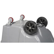 Replacement Wheel & Caster Kit for 1/2 Cubic Yard Deluxe Tilt Trucks