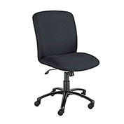 Elite Big and Tall High Back Chair - Black Fabric