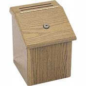 Wooden Locking Suggestion Box
