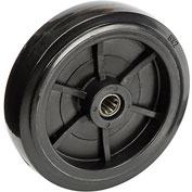 "Replacement 8"" Wheel & Hardware for 1 Cubic Yard Standard Duty Tilt Trucks"