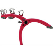 Bike Carriers Truck Mounted Bones 3-Bike Red